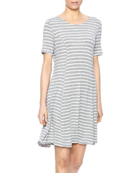 Hyfve stripe dress medium 608836