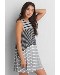 O soft sexy striped swing dress medium 608837