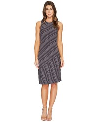 Boardwalk stripe asymmetrical seamed tank dress dress medium 5171461