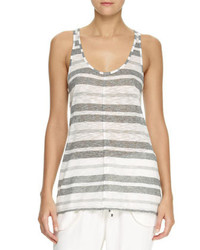 10 Crosby Derek Lam Striped Scoop Neck Tank