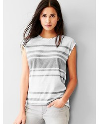 Gap Stripe Muscle Tank