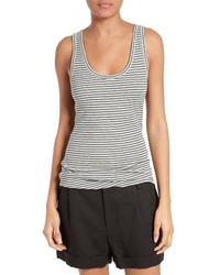 Stripe pima cotton tank medium 1195835