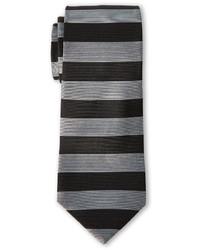 Pierre Cardin Horizontal Stripe Slim Silk Tie