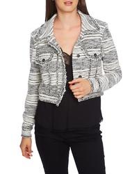 1 STATE Tweed Crop Jacket