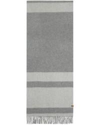 Mackage Grey Striped Lazio Scarf