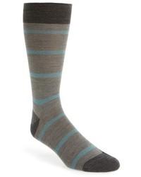 Pantherella Furley Stripe Merino Wool Blend Socks