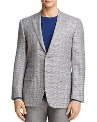 Canali Houndstooth Classic Fit Sport Coat