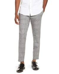 Grey Houndstooth Chinos