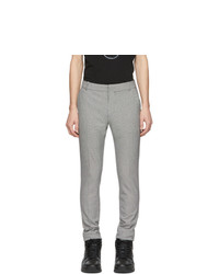 Balmain Black And White Houndstooth Trousers