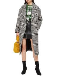Topshop Kim Check Coat