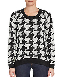 Houndstooth sweater medium 224725