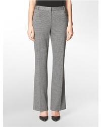 Grey Houndstooth Dress Pants for Women | Women's Fashion
