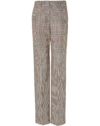 Wide leg houndstooth trousers medium 269272