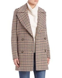 Set Houndstooth Peacoat