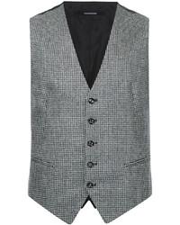 Tagliatore Houndstooth Waistcoat