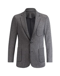 Bugatchi Houndstooth Cotton Wool Sport Coat