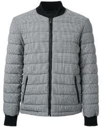 Houndstooth padded bomber jacket medium 968445