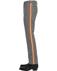 Calvin Klein 19cm Wool Houndstooth Pants