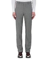 Calvin Klein 205w39nyc Stripe Appliqud Wool Trousers