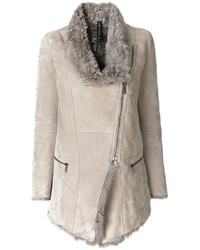 Asymmetric zipped jacket medium 5276543