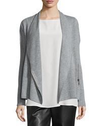 Collection cashmere zip front jacket medium 739270