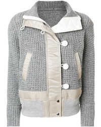 Knitted detail jacket medium 5206750