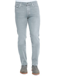 7 For All Mankind Lux Performance Slimmy Stone Gray Jeans Stone Gray