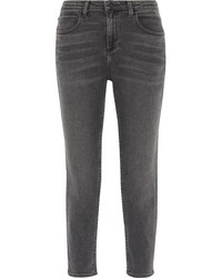 Alexander Wang Ride High Rise Jeans Gray