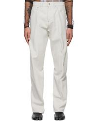 Maison Margiela Grey Denim Jeans