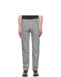 Levis Grey Gart Dyed 501 93 Straight Jeans
