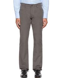 Salie66 Grey Moleskin Buuel Trousers