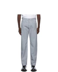 Helmut Lang Grey Reflective Masc Lo Easy Jeans