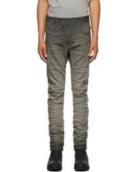 Boris Bidjan Saberi Grey Resin Dyed P13 Jeans
