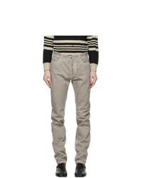 Maison Margiela Grey Slim Jeans