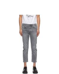 Acne Studios Grey Slim Tapered Fit Jeans