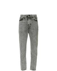 Saint Laurent High Waist Straight Jeans