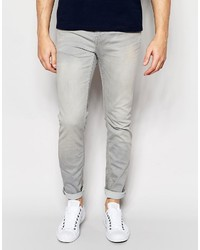 ONLY & SONS Light Gray Slim Fit Jeans
