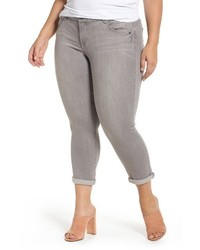 Democracy Plus Size Ab Solution Ankle Skimmer Jeans