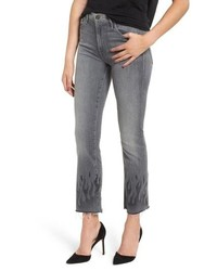 MOTHE R The Insider Frayed Ankle Jeans