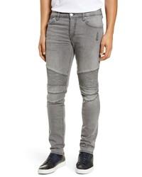 True Religion Brand Jeans Rocco Extra Slim Fit Biker Jeans