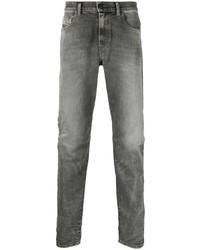 Diesel Straight Leg Light Wash Jeans