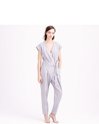 J.Crew Collection Tropical Wool Jumpsuit