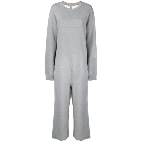 MM6 MAISON MARGIELA Jersey Sweatshirt Jumpsuit