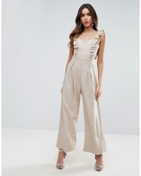 Jumpsuit with frill detail medium 3727904