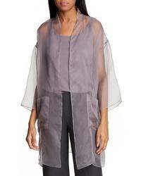 Eileen Fisher Silk Kimono Jacket