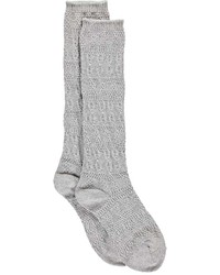 Boohoo Rose Chunky Knit Knee High Socks