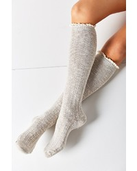 Urban Outfitters Crochet Cuff Knee High Sock