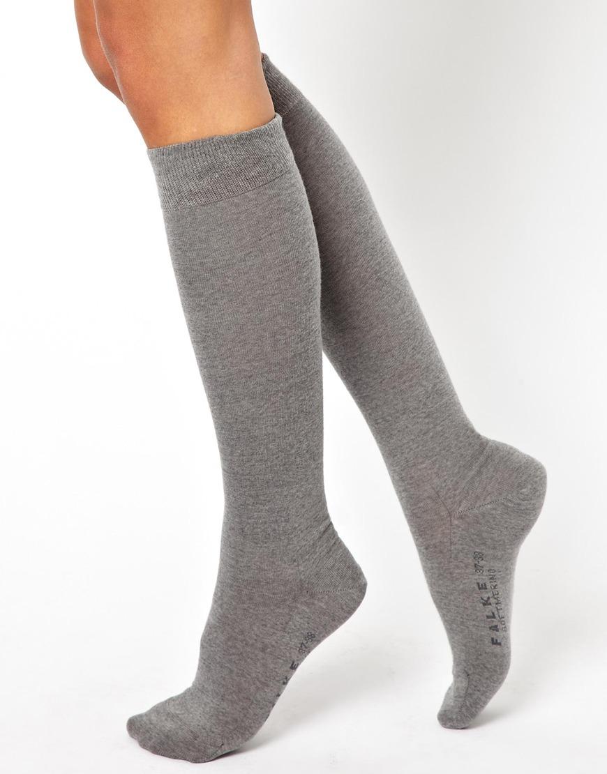 47ab4776950 ... Falke Soft Merino Knee High Socks