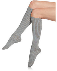 Metallic Knee High Socks