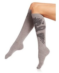 Natori Legwear Dragon Knee High Socks